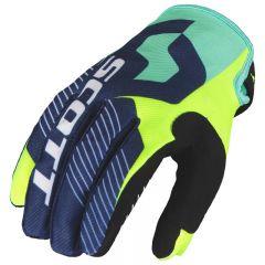 Scott  Glove 350 Angled blue/yellow