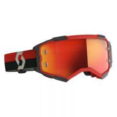Scott Goggle MX Fury red/black orange chrome works
