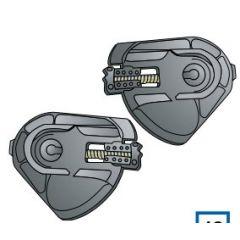 Shark S600/Ridill visor base plate kit