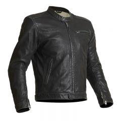 Halvarssons Leather Jacket Idre Black