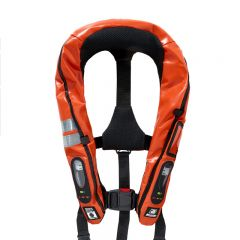 Baltic Legend 165 M.E.D./SOLAS auto inflatable lifejacket orange pvc 43+kg