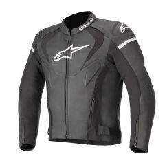 Alpinestars Leather jacket Jaws v3 Black