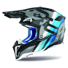 Airoh Helmet Aviator 3 Rainbow anthracite matt