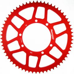 Supersprox Rear sprocket, 58, Red, Fantic 50cc RAL-1135 z58 Red
