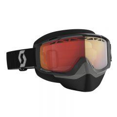 Scott Goggle Split OTG Snow Cross  LS black/grey light sensitive red chrome