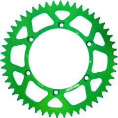 Supersprox Rear Sprocket Alu RAL-460:52 Green