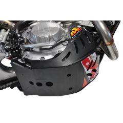 AXP Skid Plate Black Ktm EXC-F250-EXC-F350 17-19 AX1401