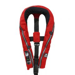 Baltic Compact 100 auto inflatable lifejacket red 30-110kg