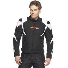 Sweep Textilejacket Speedster WP, black/white/red