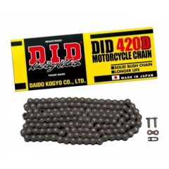D.I.D 420D Chain+Connecting link (RJ) DID 420D-140RB