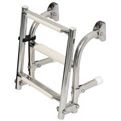 S.S transom ladder 4 steps