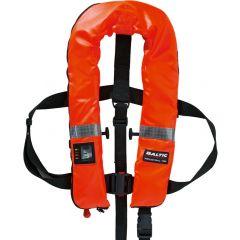 Baltic Industrial 150 Argus auto inflatable lifejacket orange 40-150kg