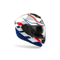 Airoh Helmet ST501 Frost blue/Red Gloss