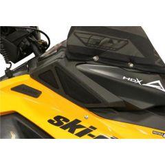 Skinz Air Screen Kit  Black 2013- Ski Doo XM/XS Rasmussen SDIK410-BR-BK