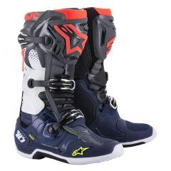 Alpinestars Boot Tech 10 Gray/Blue/Red