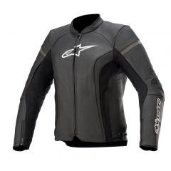 Alpinestars Leather Jacket Woman Kira v2 Black