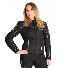 Sweep Textilejacket Adina WP Lady, black/white
