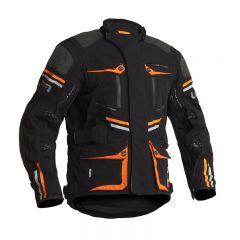 Lindstrands Textile Jacket Sunne Black/orange