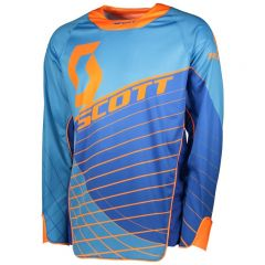 Scott Jersey Enduro blue/orange
