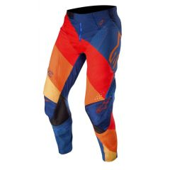 Alpinestars pants Techstar Venom, dark blue/red/tangerine