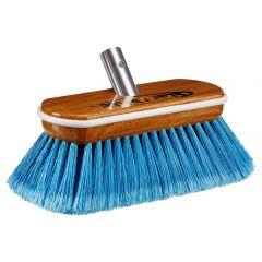 Star brite Premium Medium Wash Brush - Synthetic Wood Block W/Bumper (Blue)