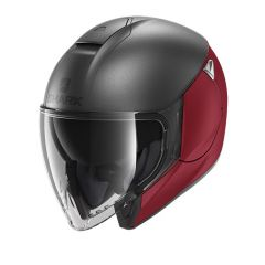 Shark Citycruiser Dual, matt anthracite/red