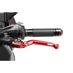 Puig Foldable Clutch Lever 16'C/Red Selector C/Black