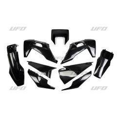 UFO Plastic kit 5-parts Black 001 HVA TE/FE 125-501 20-