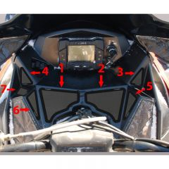 SPI Frogskinz 2010-14 Polaris Rush/Switchback/RMK Air Box Intake Vent Kit (5pc) 182-100 / F0116