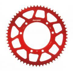 Supersprox Rear sprocket, 58, Ø105mm, Red, Derbi / Aprilia / Yamaha RAL-1131 z58 Red