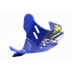 AXP Xtrem HDPE Skid Plate Blue Sherco 250SEF FACTORY-300SEF FACTORY-250SEFR-300S
