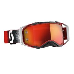Scott Goggle MX Prospect white/red orange chrome works
