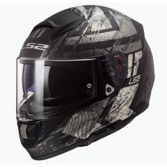 LS2 Helmet FF397 Vector Evo Hunter Flat black/Titan