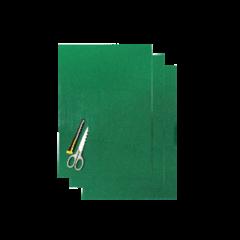 Blackbird Coloured sheet green 47x33cm (3pcs)