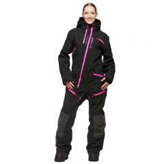 Sweep Backcountry Ladies Coverall, Black/Pink