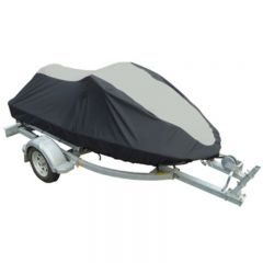 OS JET SKI COVER -2 TONE- BLACK/GREY 3.4M - 3.7M MA077-3