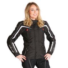 Sweep Textilejacket Talya WP Lady, black/white