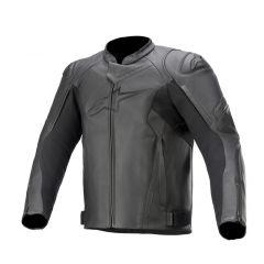 Alpinestars Leather jacket Faster v2 Black