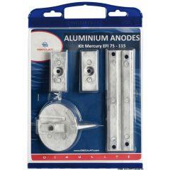 Osculati Anode kit Alu Mercury 75/80/90/100/115 EFI