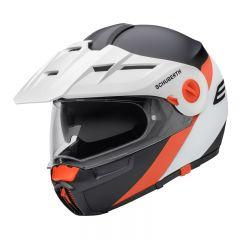 Schuberth helmet E1 Gravity orange