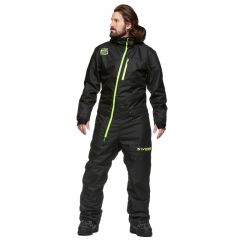 Sweep Inversion Coverall, Black/Yellow