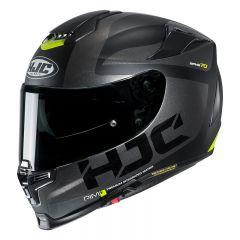 HJC Helmet RPHA 70 Balius Gray/Black/FluoYellow MC5SF
