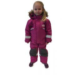 Snowpeople Junior Monosuit Kodiak pink