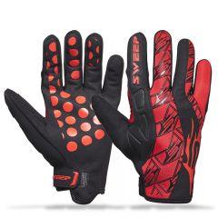 Sweep Freeride, neoprene glove, red/black