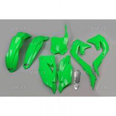 UFO Plastic kit KX450F 19- Green Fluo