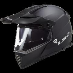 LS2 Helmet MX436 PIONEER  EVO MATT BLACK