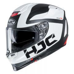 HJC Helmet RPHA 70 Balius Black/White/Red MC10SF