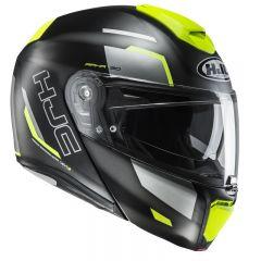 HJC Helmet RPHA 90 Rabingo MC4HSF Black/Grey/Fluogul