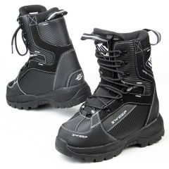 Sweep Yeti snowmobile boots black/white