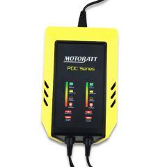 Motobatt 2-Bank 9 step charger 12V 2,0 Amp